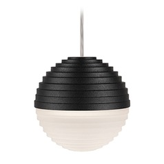 Kuzco Black LED Mini-Pendant Light