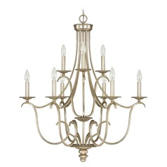 Capital Lighting Bailey Winter Gold Chandelier