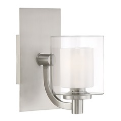 Quoizel Lighting Kolt Brushed Nickel LED Sconce