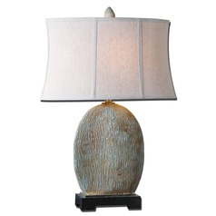 Uttermost Seveso Light Blue Table Lamp