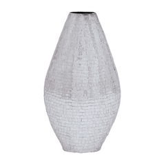 UMA Enterprises Silver Decorative Vase 26299