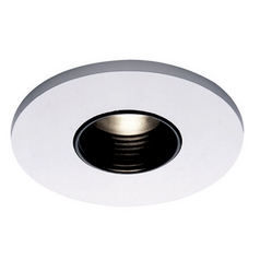 Wac Lighting Black/white Recessed Trim