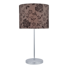 Lite Source Lighting Glora Table Lamp with Drum Shade