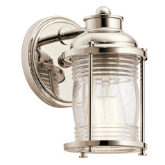 Kichler Lighting Ashland Bay Polished Nickel Sconce