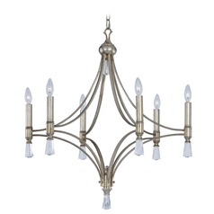 Maxim Lighting Regal Silver Gold Chandelier