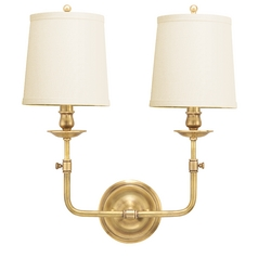 Aged Brass Wall Sconce