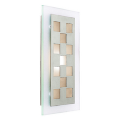 Access Lighting Aquarius Brushed Steel LED Sconce