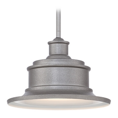 Quoizel Lighting Seaford Galvanized Outdoor Hanging Light