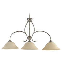 Quorum Lighting Spencer Mystic Silver Island Light