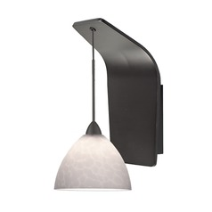WAC Lighting Faberge Rubbed Bronze Sconce