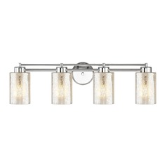 Mercury Glass Chrome Bathroom Light Chrome
