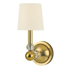 Hudson Valley Lighting Danville Aged Brass Sconce