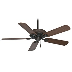 Casablanca Fan Ainsworth Brushed Cocoa Ceiling Fan Without Light