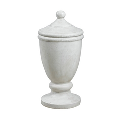 Kenroy Home Lighting Sculpture in Roman White Finish 60072