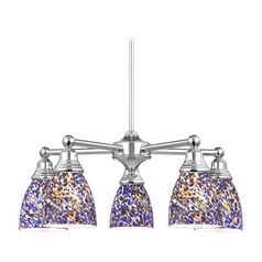 Chandelier in Polished Chrome Finish