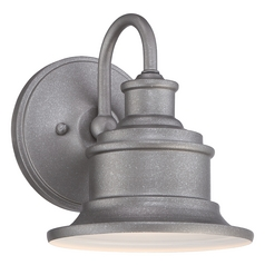 Quoizel Lighting Quoizel Lighting Seaford Galvanized Outdoor Wall Light SFD8407GV