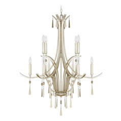 Capital Lighting Berkeley Winter Gold Chandelier