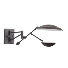 Craftmade Lighting Pavilion Flat Black LED Sconce