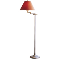 Swing-Arm Floor Lamp with Shade