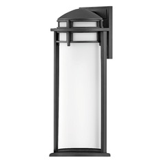 Hinkley Lighting Annapolis Textured Black Outdoor Wall Light