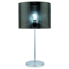 Lite Source Lighting Lanza Table Lamp with Drum Shade