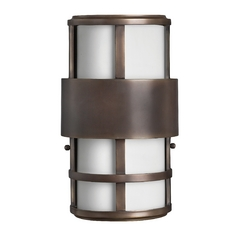 Flush Outdoor Wall Light