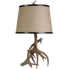 Stylecraft Rustic Antler Table Lamp