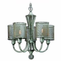 Uttermost Pontoise 5 Light Vintage Chandelier