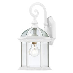 Nuvo Lighting Boxwood White Outdoor Wall Light