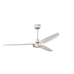 Kichler Lighting Industrial Brushed Nickel Ceiling Fan