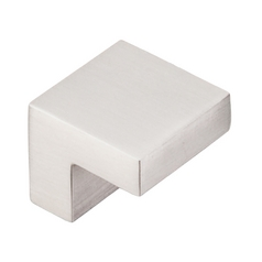 Modern Cabinet Knob in Brushed Satin Nickel Finish