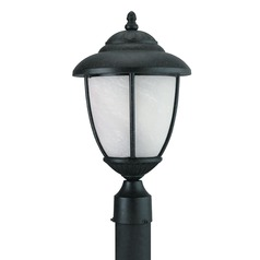 Sea Gull Lighting Yorktown Forged Iron LED Post Light
