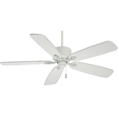 Casablanca Fan Co Casablanca Fan Compass Point Cottage White Ceiling Fan Without Light 54010