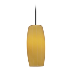 Access Lighting Sydney Cognac Oil Rubbed Bronze Mini-Pendant with Oblong Shade