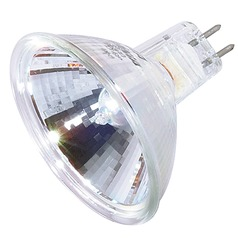 MR-16 Halogen Light Bulb 2 Pin Narrow Spot 9 Degree Beam Spread 2900K 12V Dimmable