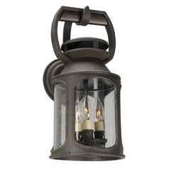 Troy Lighting Old Trail Centennial Rust Outdoor Wall Light