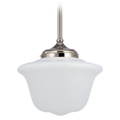 14-Inch Schoolhouse Pendant Light