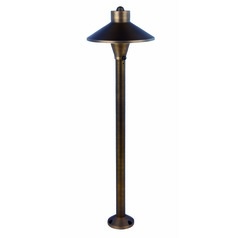 Brass Works Antique Brass Path Light