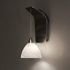 WAC Lighting Faberge Brushed Nickel LED Sconce
