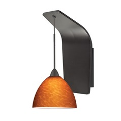 WAC Lighting Faberge Rubbed Bronze LED Sconce