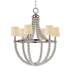 Hudson Valley Danville 6-Light Chandelier in Polished Nickel