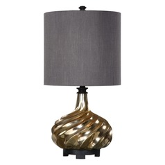 Uttermost Cotati Metallic Antique Gold Lamp