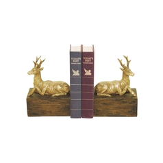 Stags Resting Bookends