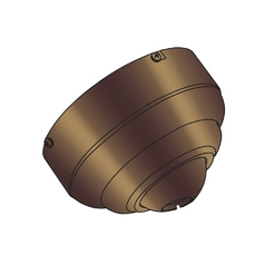 Ceiling Adaptor in Regal Bronze Finish
