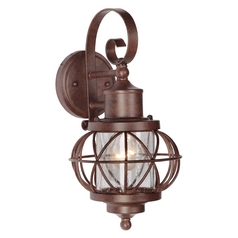Craftmade Lighting Craftmade Lighting Revere Aged Bronze Outdoor Wall Light Z5904-98
