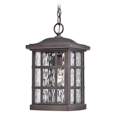 Quoizel Stonington Palladian Bronze Outdoor Hanging Light