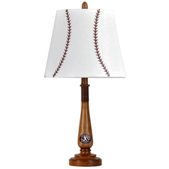 Stylecraft Transitional Basketball Bat Table Lamp