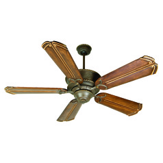 Craftmade Lighting Riata Aged Bronze Textured Ceiling Fan Without Light