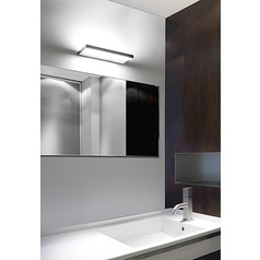 Prime Bath Brushed Aluminum LED Bathroom Light