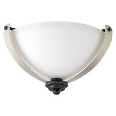 Progress Lighting Noma Antique Bronze with Champagne Accents Flushmount Light